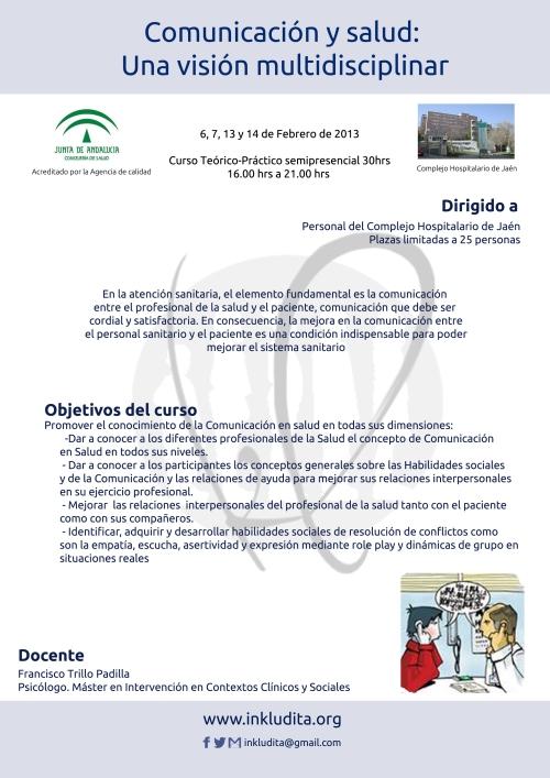 Poster Comunicacion y Salud Jaén